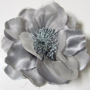 Chico's Clea Silk Flower Magnetic Brooch